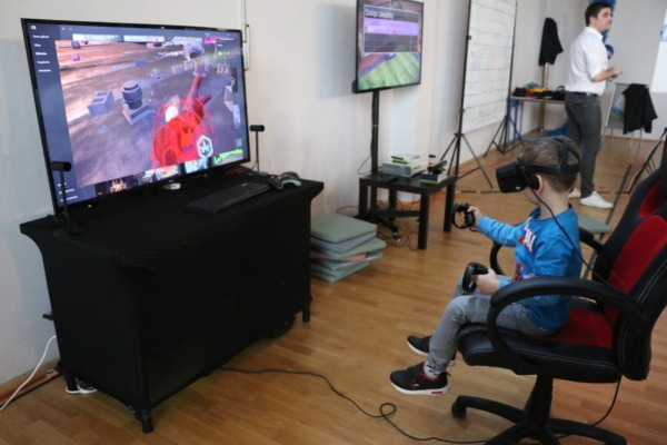 Gogle VR wynajem na eventy dla dzieci