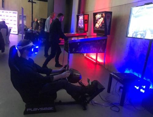 Realizacja: Symulator rajdowy VR i flippery- wynajem na imprezę firmową