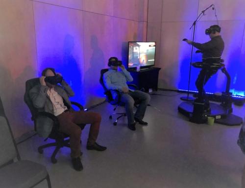 Realizacja: Wirtualna Rzeczywistość na imprezę-bieżnia VR i gogle VR do wynajęcia