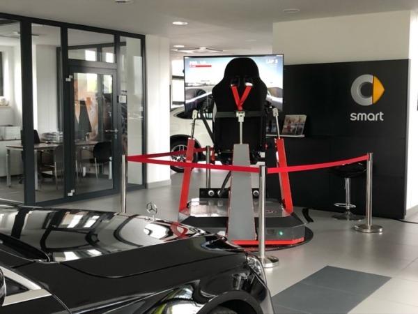 Symulator rajdowy - atrakcje na wynajem na imprezę motoryzacyjną