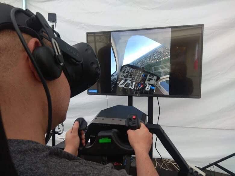 Statyczny symulator lotu na wynajem