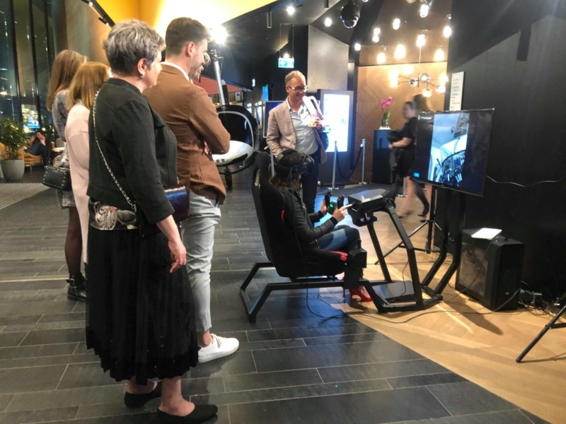 Symulator lotu VR wynajem