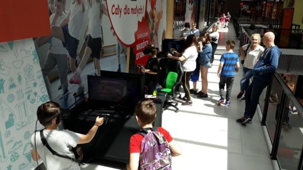 Atrakcje VR na wynajem do galerii handlowych