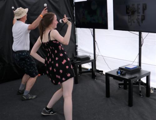 Realizacja:  Atrakcje taneczne – mata taneczna, Konsola z grą Just Dance wynajem