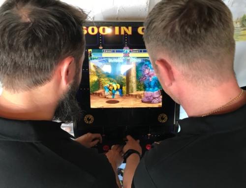 Realizacja: flippery, automaty arcade, konsole retro