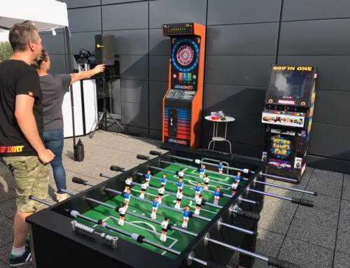 Realizacja: dart, piłkarzyki, automaty arcade, flipper- wynajem na imprezę firmową