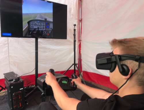 Symulator lotu VR i symulator rajdowy VR do wynajęcia na event