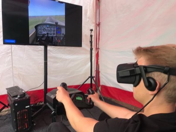 Latanie VR wynajem na imprezę