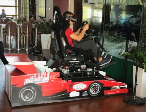 Realizacja: Symulator rajdowy VR 3dof- wynajem na event