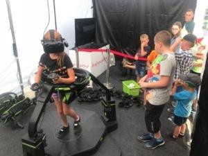 Bieżnia VR Virtuix Omni do wynajęcia na event