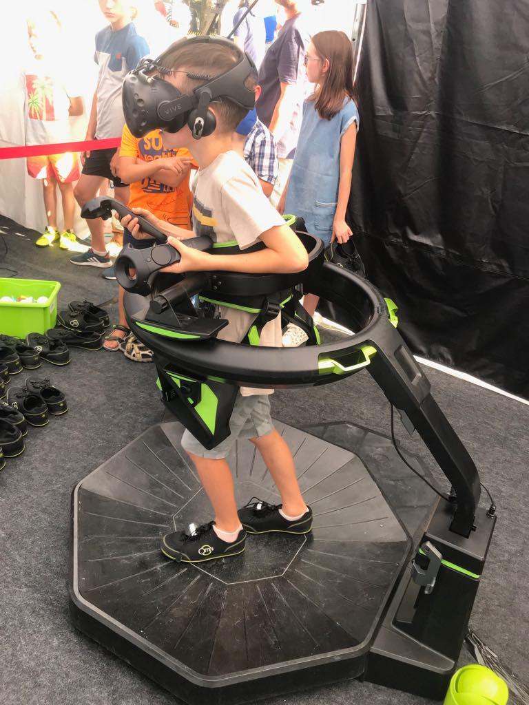Wirtualna rzeczywistość - atrakcje dla dzieci