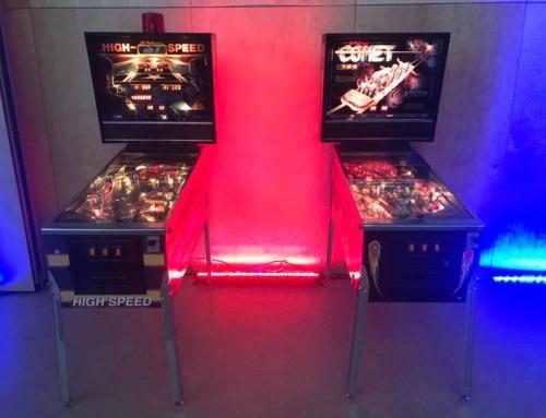 Realizacja: flippery i automaty arcade wynajem na event