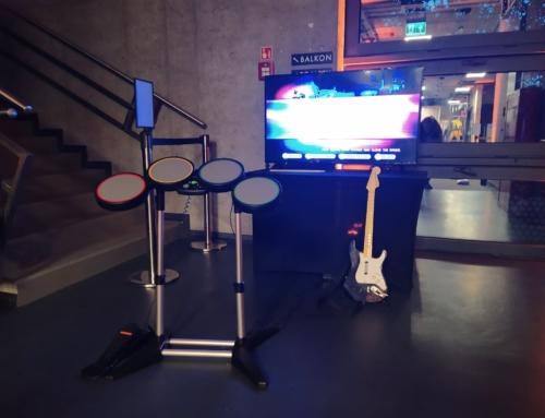 Rock Band, perkusja, gitara, mikrofon na wynajem – stwórz swój zespół muzyczny!