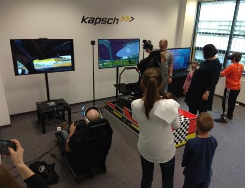 Realizacja: Symulator roller coaster VR, symulator rajdowy VR, gogle VR