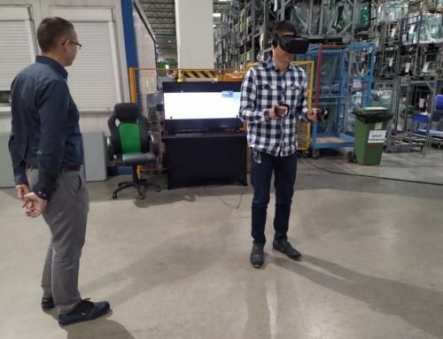 Realizacja: gogle VR w fabryce