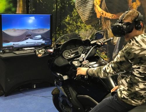 Realizacja: Symulator jazdy motocyklem VR na targach