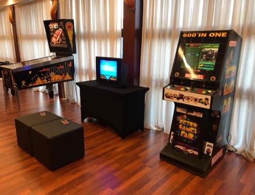 Flippery, automaty arcade, konsole pegasus – atrakcje retro na imprezę