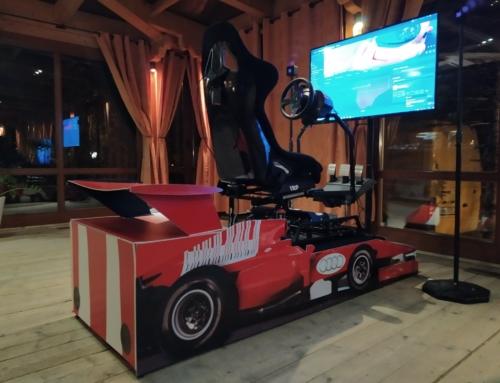 Symulator wyścigów w wirtualnej rzeczywistości