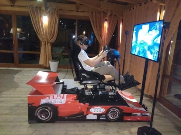 Symulator rajdowy VR wynajem na imprezę