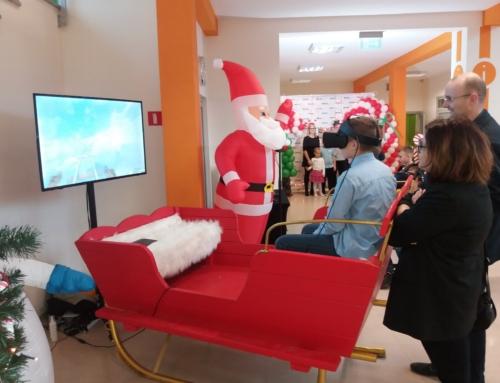 Realizacja: Sanie Mikołaja VR do wynajęcia na event
