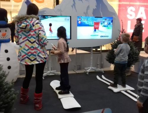 Symulator snowboardu i symulator nart na wynajem na imprezę