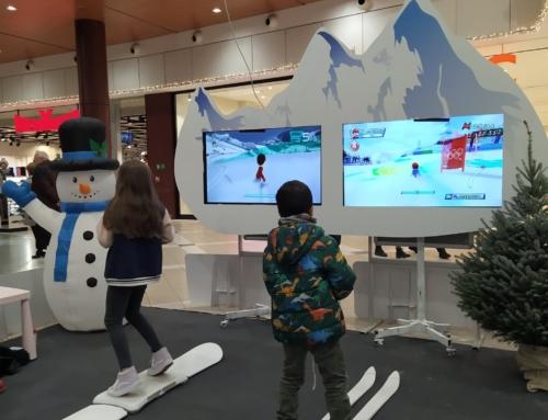 Realizacja: symulator nart i symulator snowboardu wynajem