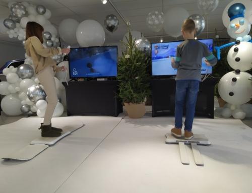 Realizacja: symulator nart i symulator snowboardu na event