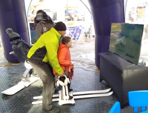 Symulator nart i snowboardu- wynajem na ferie