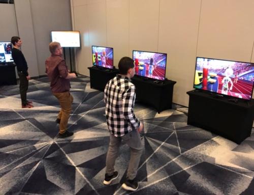 Aplikacje i gry biegowe w ramach CSR: gogle VR i konsole do wynajęcia