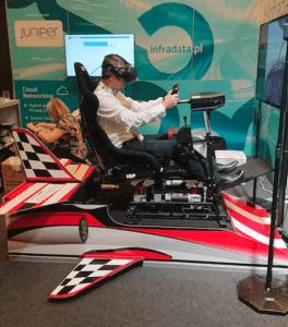 Symulator lotu VR 3DOF do wynajęcia