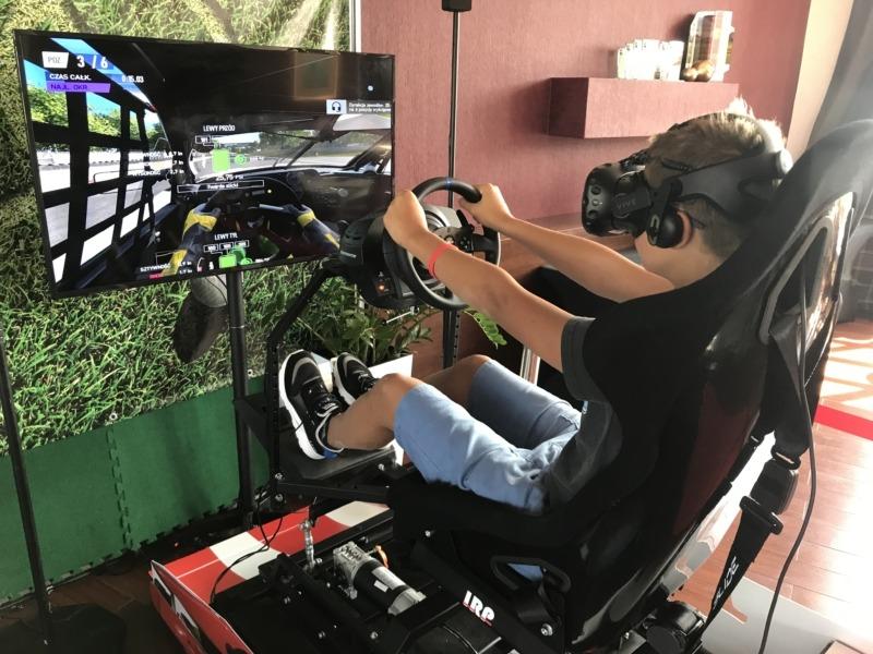 Symulator rajdowy VR 3DOF na podnośnikach do wynajęcia