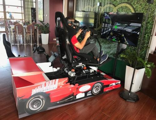 Symulator rajdowy VR
