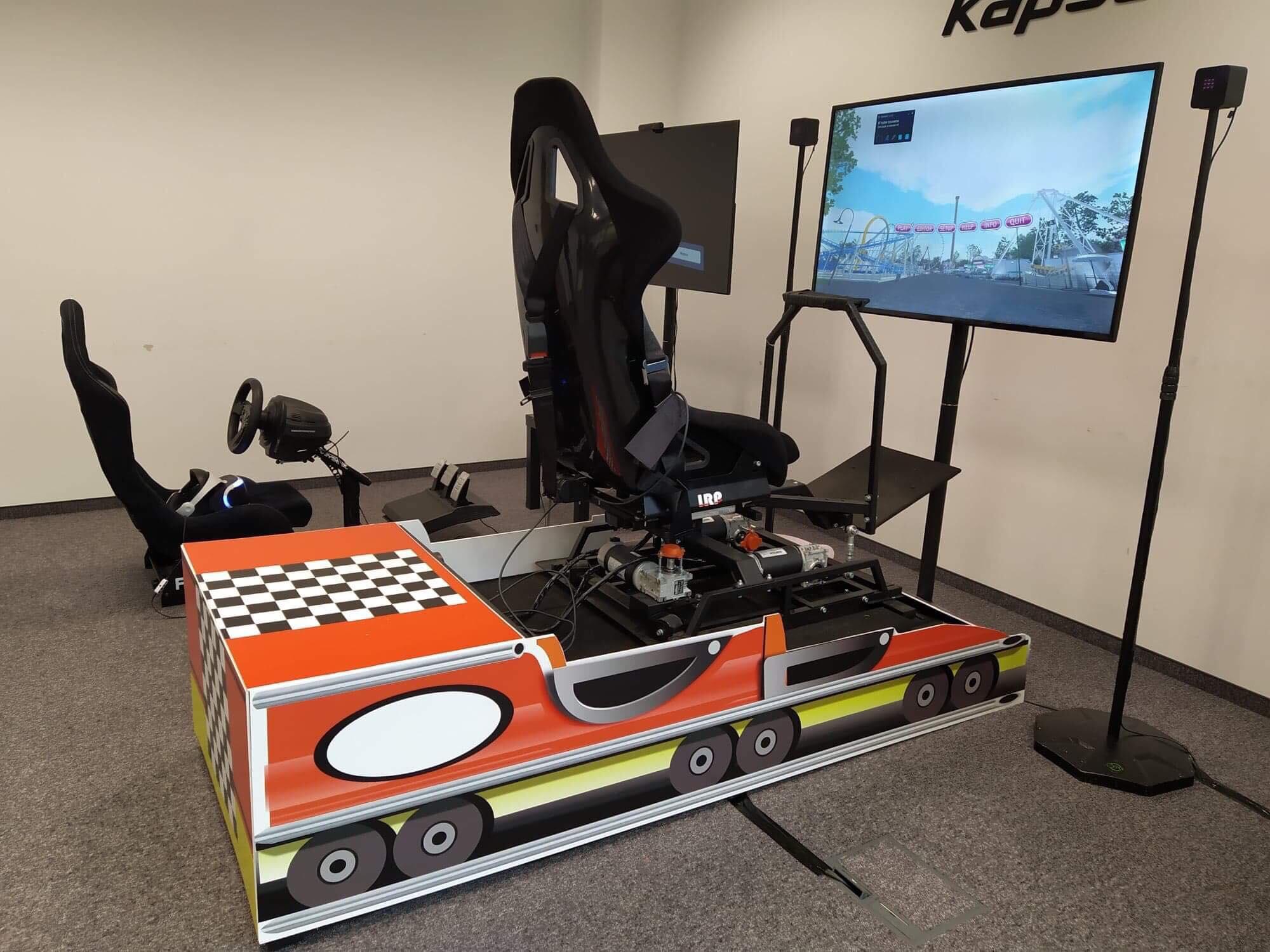 Symulator rollercoaster do wynajęcia na event