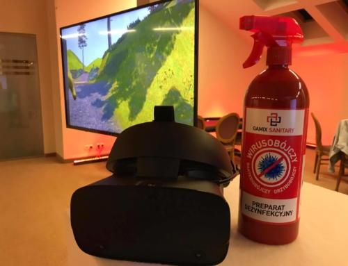 Realizacja: Gogle VR na wynajem – nowe standardy sanitarne