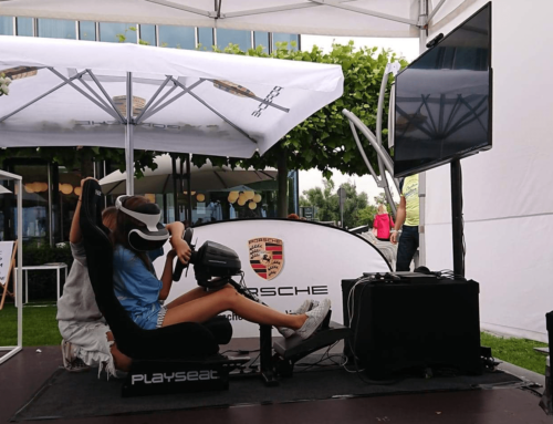 Realizacja: Symulator rajdowy VR na wynajem