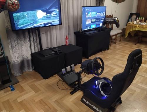 Realizacja: symulator rajdowy VR na imprezę