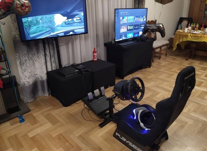 Symulator wyścigów VR wynajem na event