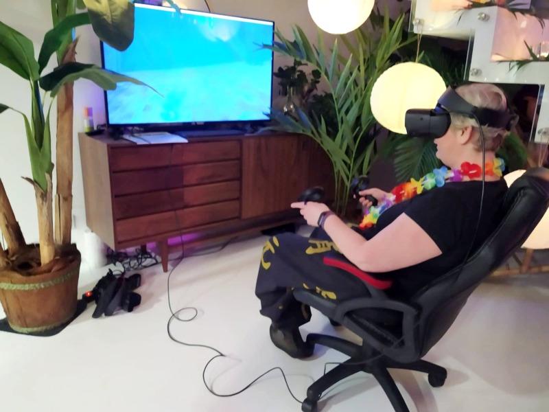 Okulary VR na wynajem na event
