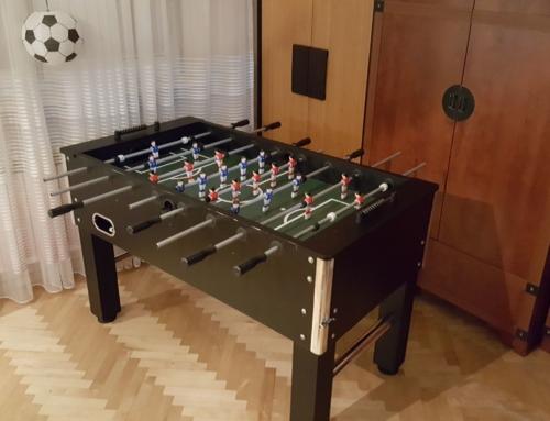 Realizacja: stół do piłkarzyków do wynajęcia na urodziny