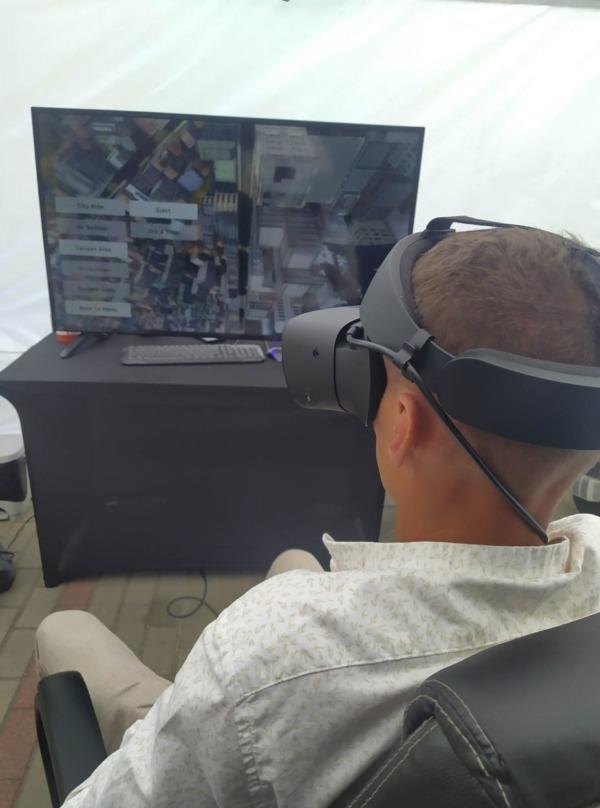 Gogle VR wynajem na piknik