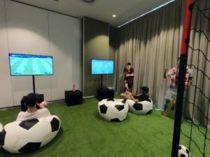Scenografia piłkarska na imprezę