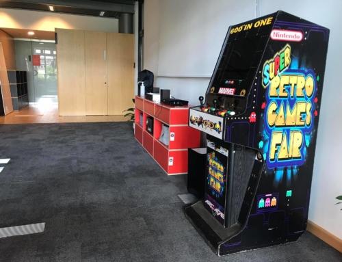 Retro automaty arcade z grami – wynajem