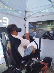 Symulator wyścigowy VR wynajem